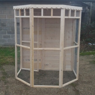 Flat Back Aviary (boarded back) Unpainted